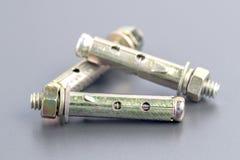 Sleeve anchor bolt Stock Photography