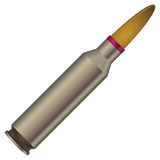 Sleeve with a bullet. Reloading. Vector illustration Royalty Free Stock Photos