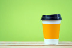 Sleeve paper cup Stock Image