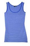 Sleeveless sportenoverhemd Stock Foto's