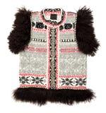 Sleeveless sweater Stock Photo