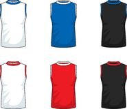 Sleeveless T-Shirts Stock Image