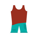 Sleeveless top with pants Royalty Free Stock Photography