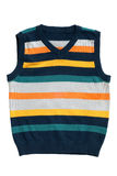sleeveless wear för barnpullover s Arkivfoto