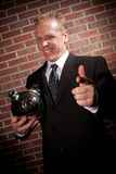 Sleezy investor Royalty Free Stock Photography