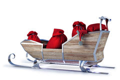 Sleigh stock illustration