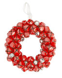 Sleigh bell wreath Royalty Free Stock Images