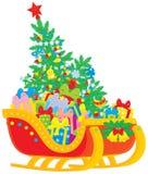 Sleigh de Santa Image stock