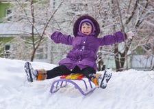 A sleigh royalty free stock photo