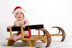 Sleigh ride Royalty Free Stock Images