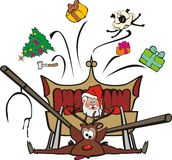 Sleigh Ride Royalty Free Stock Image