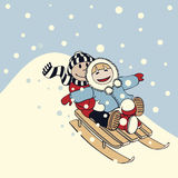 Sleigh ride Stock Photos