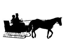 Sleigh Ride Royalty Free Stock Photos