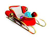 Sleigh of Santa Claus Royalty Free Stock Photography