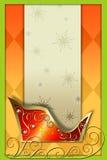 Sleigh3 de Santa ilustração do vetor