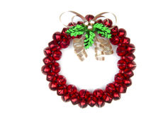 Sleighbell Wreath Royalty Free Stock Photo