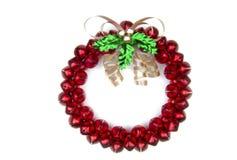 Sleighbell Wreath royalty free stock photo