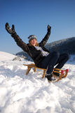 Sleighing Royalty Free Stock Photos