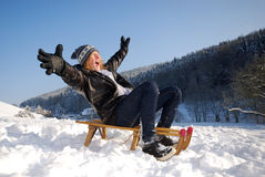 Sleighing Stock Photography