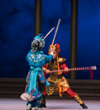 "Sleight των χέρι-έκτων υπερχειλίσεων χρυσό λόφος-Kunqu Opera""Madame άσπρο Snake† νερού πράξεων Στοκ Εικόνα"