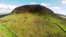 Slemish帕特里克小山山Co安特里姆北爱尔兰 影视素材