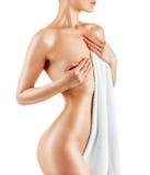Slender body Stock Image