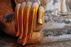 Slender fingers of wat si chums, Thailand Royalty Free Stock Photos