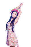 Slender girl Royalty Free Stock Photo