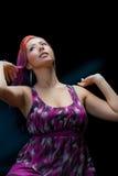 Slender Latina Model In 20's Royalty Free Stock Photo