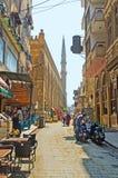 The slender minaret Stock Photo