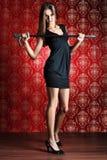 Slender model Stock Photography