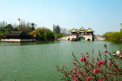 Slender West Lake in Jiangsu Stock Photography