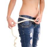 Slender woman Stock Image