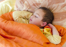 Sleping child Royalty Free Stock Photo