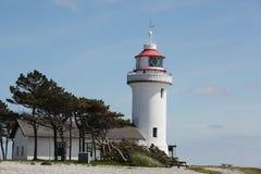 Sletterhage lighthouse Stock Photo