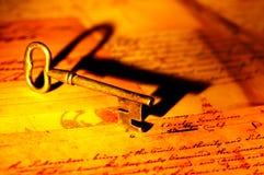 Sleutel Royalty-vrije Stock Fotografie