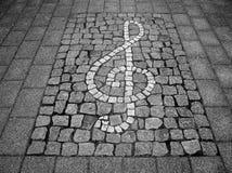 Sleutel - muziek   Stock Afbeeldingen