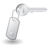 Sleutel om huis te bezitten Stock Afbeeldingen