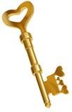 Sleutel tot elk hart. Royalty-vrije Stock Afbeeldingen