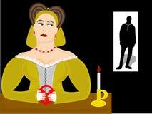Sleutel tot haar Hart Royalty-vrije Stock Afbeeldingen