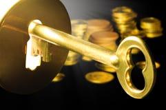 Sleutel tot het fortuin Royalty-vrije Stock Fotografie