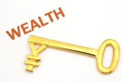 Sleutel tot rijkdom - Yen Royalty-vrije Stock Foto's