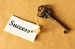 Sleutel tot succes Royalty-vrije Stock Foto's