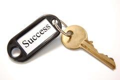 Sleutel tot succes Stock Foto