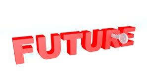 Sleutel tot uw toekomst Royalty-vrije Stock Foto
