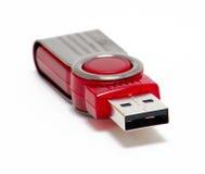 Sleutel USB Royalty-vrije Stock Foto's