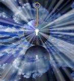 Sleutel van Licht Royalty-vrije Stock Afbeeldingen