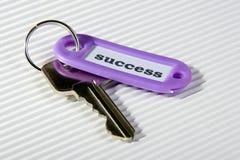 Sleutel voor succes 1 Royalty-vrije Stock Afbeeldingen