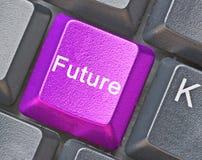Sleutel voor toekomst Stock Foto's