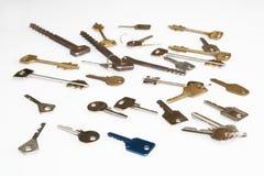 Sleutels Stock Foto's